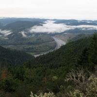 lower klamath cloud scape