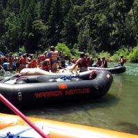rafts loading up